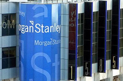 Morgan Stanley reporta 47,8% menos en el primer trimestre