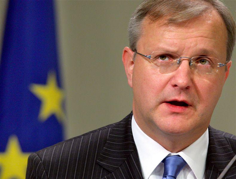 """Rehn advierte a Finlandia de las """"consecuencias"""" de rechazar el rescate portugués"""