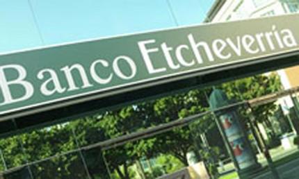 Banco Etcheverria adquirirá 57 oficinas a NCG Banco