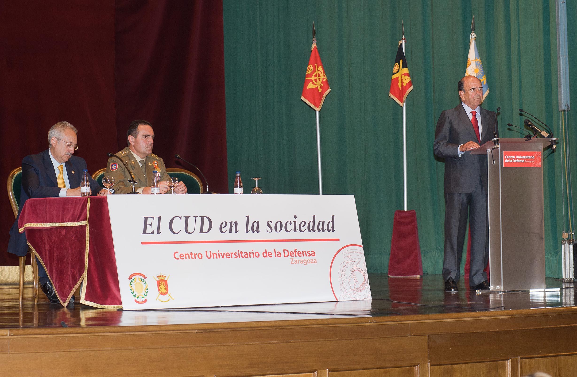 Emilio Botín en CUD