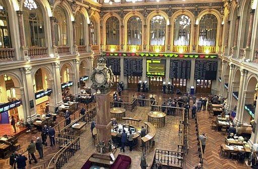 Caída del 1,52% en la Bolsa de Madrid