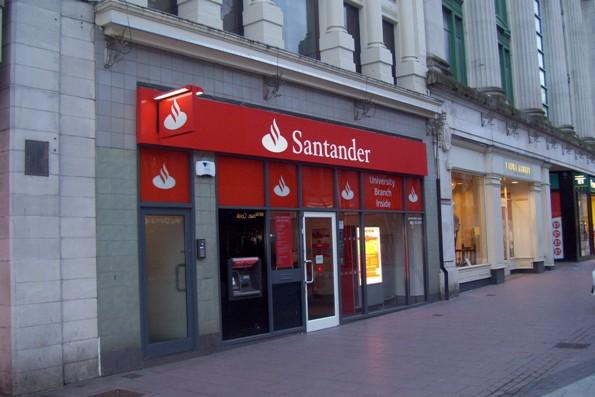 Santander reino unido