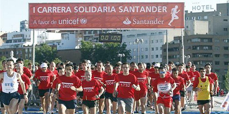 Carrera Solidaria Banco Santander
