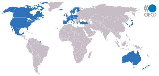 paises de la OCDE
