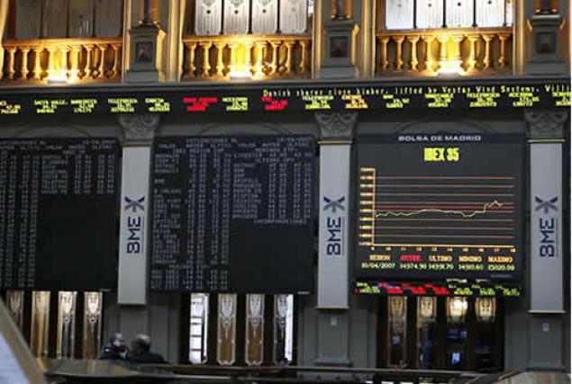 La Bolsa de Madrid cede un 0,35%