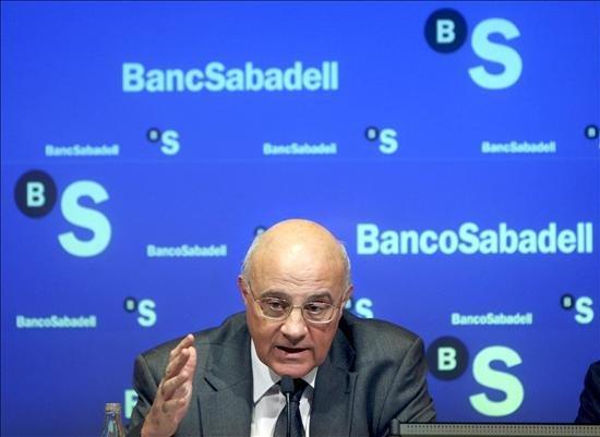 Banco Sabadell gana 123,4 millones de euros hasta junio