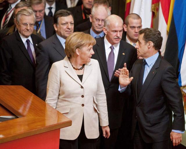 Líderes de la zona euro