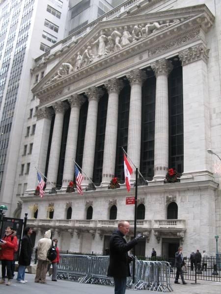 Banco Santander, protagonista en la bolsa de Nueva York