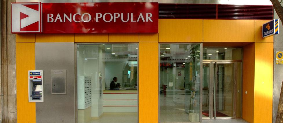 Alphavalue recorta estimaciones de beneficio de banco popular for Oficinas banco popular barcelona