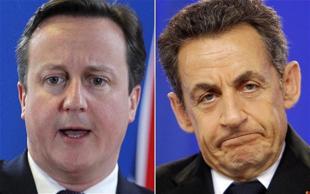 Sarkozy David Cameron