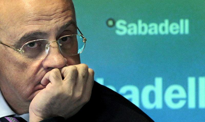 """Oliu (Banco Sabadell): """"Se recuperarán menos de la mitad de las aportaciones del Frob"""""""