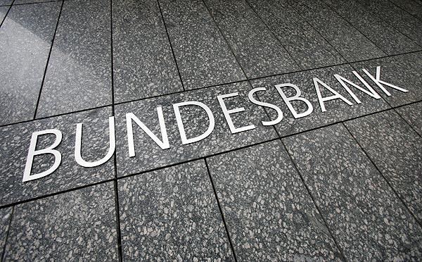 Aviso del Bundesbank sobre los tipos bajos