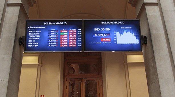 La Bolsa de Madrid termina la semana avanzando un 1,44%