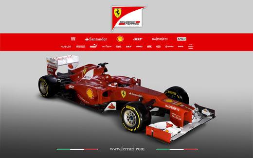Banco Santander y Ferrari
