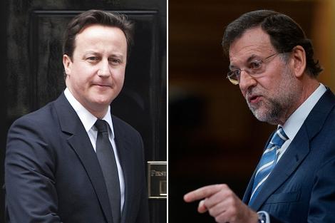 Cameron y Mariano Rajoy