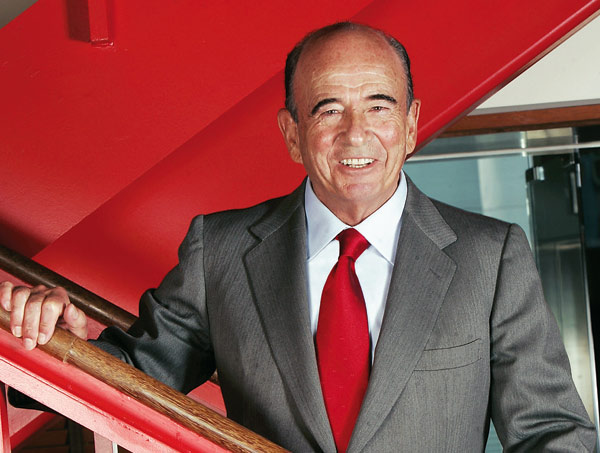Emilio Botín, en Fortune