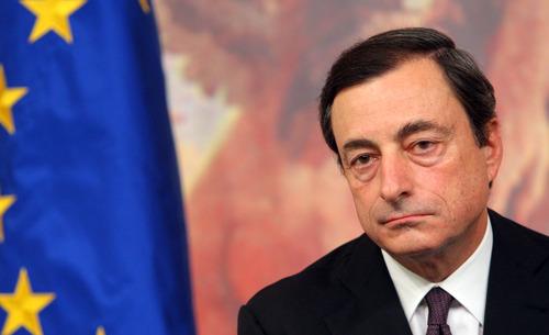 Draghi augura una recuperación muy gradual de la economía para final de año