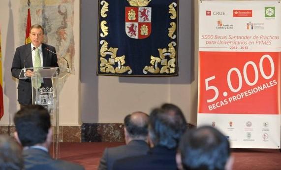 Banco Santander becas
