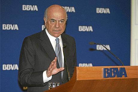 Francisco González (BBVA): España muy cerca del fin de la crisis