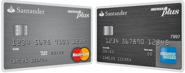 tarjeta crédito santander iberia