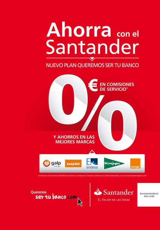 Banco santander ofrece nuevas ventajas a sus clientes for Sucursales banco santander en roma italia