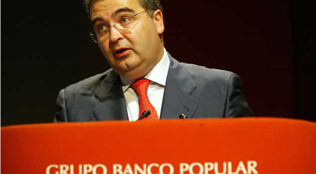 Ángel Ron (Banco Popular): la morosidad, próxima a tocar techo