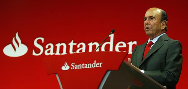 Emilio Botín, Banco Santander