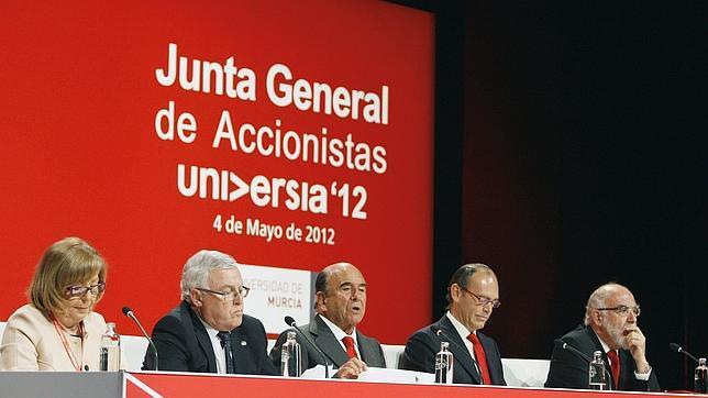 Emilio Botrin Junta de Accionistas Universia