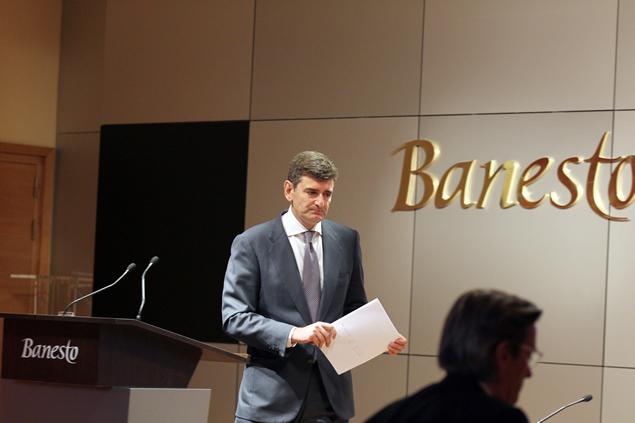 Jose Garcia Cantera, Banco Santander