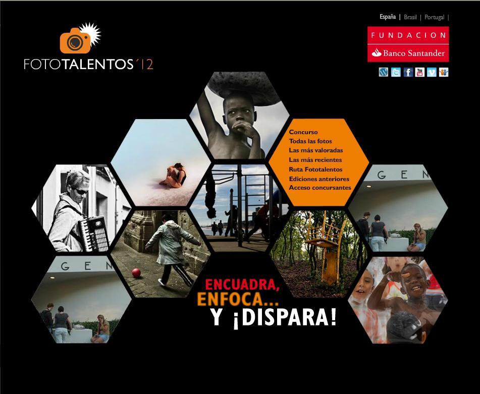 Fototalentos Banco Santander