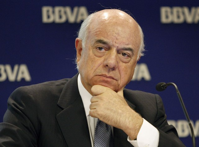Francisco González (BBVA) ganó un 1% más en 2013