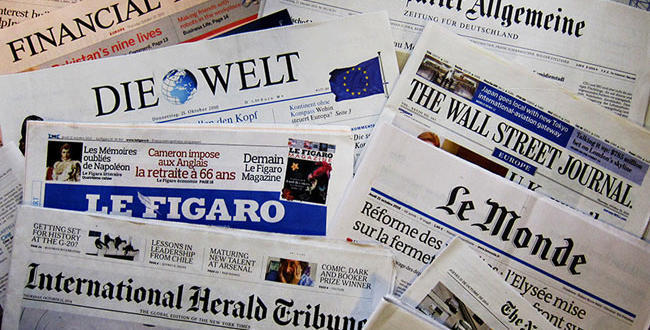 prensa europa