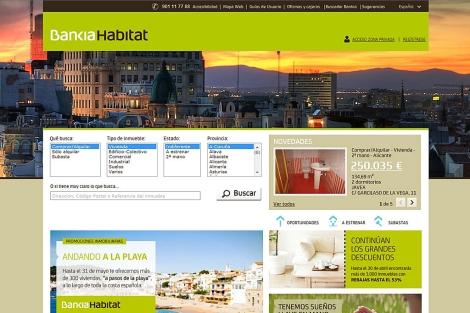 Bankia h bitat ofrece descuentos del 60 en pisos for Pisos de bancos bankia