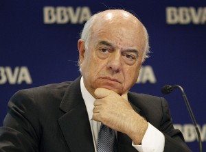 """Francisco González: """"Las malas prácticas han causado los problemas del sistema financiero"""""""