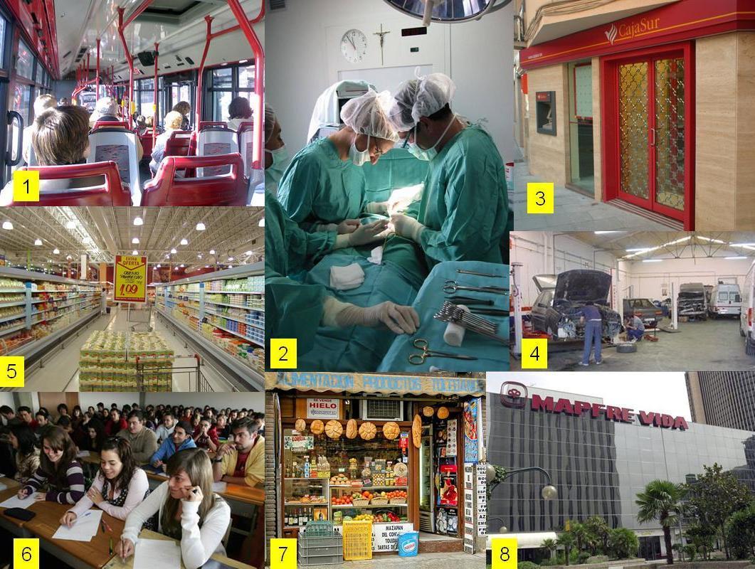 El sector servicios aumenta su contracción en España