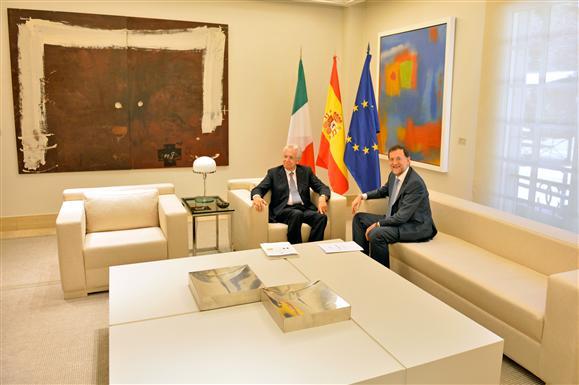Mariano Rajoy y Mario Monti se reúnen hoy en Madrid