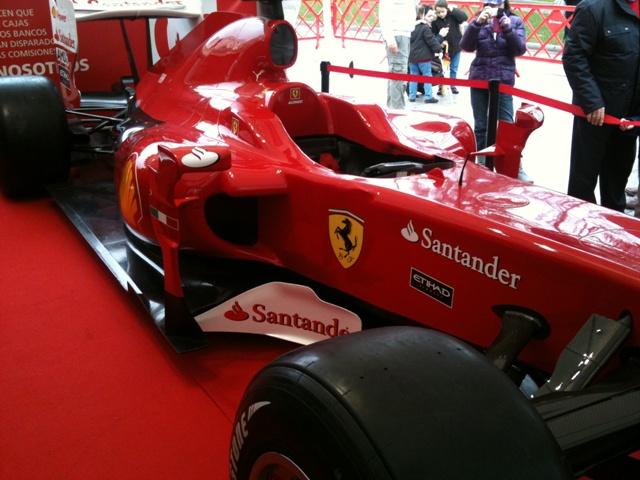 Banco Santander, Ferrari