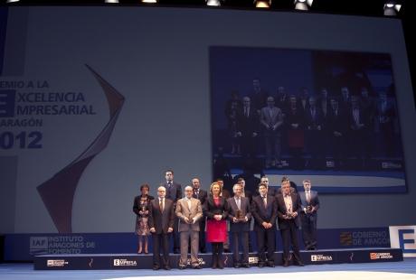 Ana Cristina Placer, presente en la entrega de premios del IX Foro Aragón Empresarial