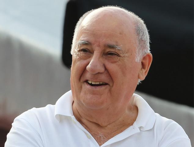Amancio Ortega, la tercera persona más rica del mundo