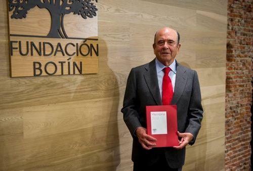 """Emilio Botín: """"La Fundación Botín invertirá un 30% más en 2013"""""""