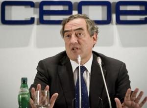 La economía española ya ha tocado fondo, según Juan Rosell