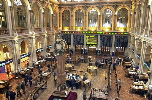 Subida del 0,69% en la apertura de la Bolsa de Madrid
