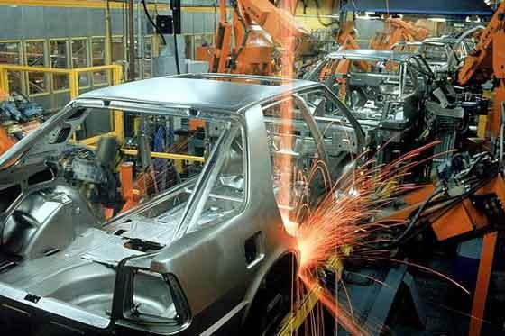 La producción industrial de la eurozona sube un 0,4%