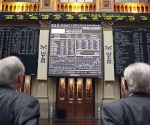 El Ibex sube un 0,54% a media sesión