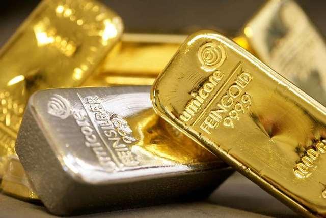 La plata y el oro continúan su descenso