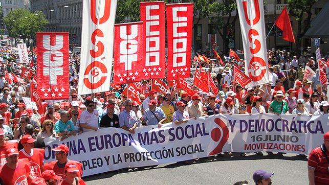 Los sindicatos abogan por políticas de crecimiento