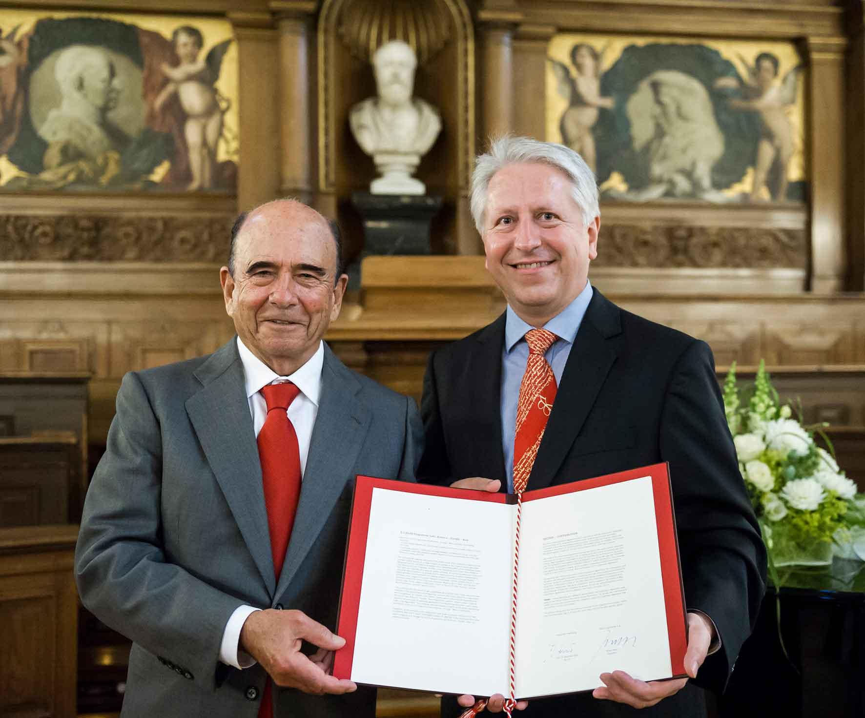 Banco Santander renueva su acuerdo con la Universidad de Heidelberg