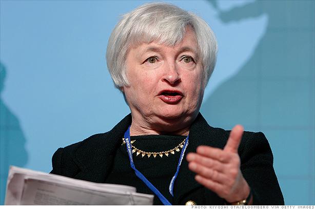 Janet Yellen afirma que la FED tiene trabajo por delante