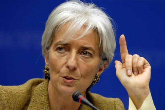 Lagarde: señales de recuperación económica mundial