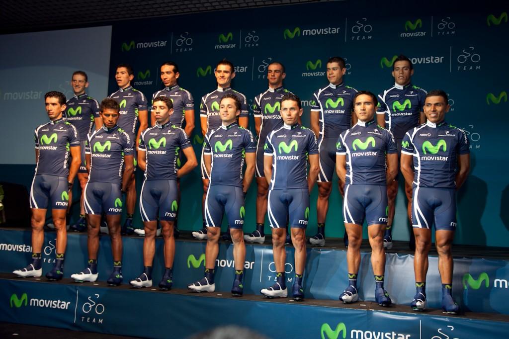 Presentacion de Movistar Team